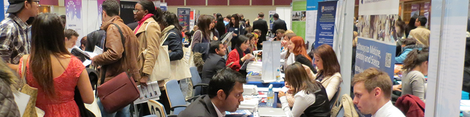 UK University Open Day at SI-UK London